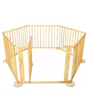 Wooden Playpen - 6 Sides