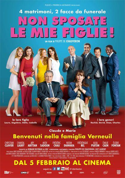 """Benvenuti nella famiglia Verneuil, composta da 4 figlie felici e due genitori... un po' tristi. Non fate come loro, scoprite subito se avete vinto l'anteprima di """"Non sposate le mie figlie!"""" http://cinema.timyoung.it/nonsposatelemiefiglie/"""