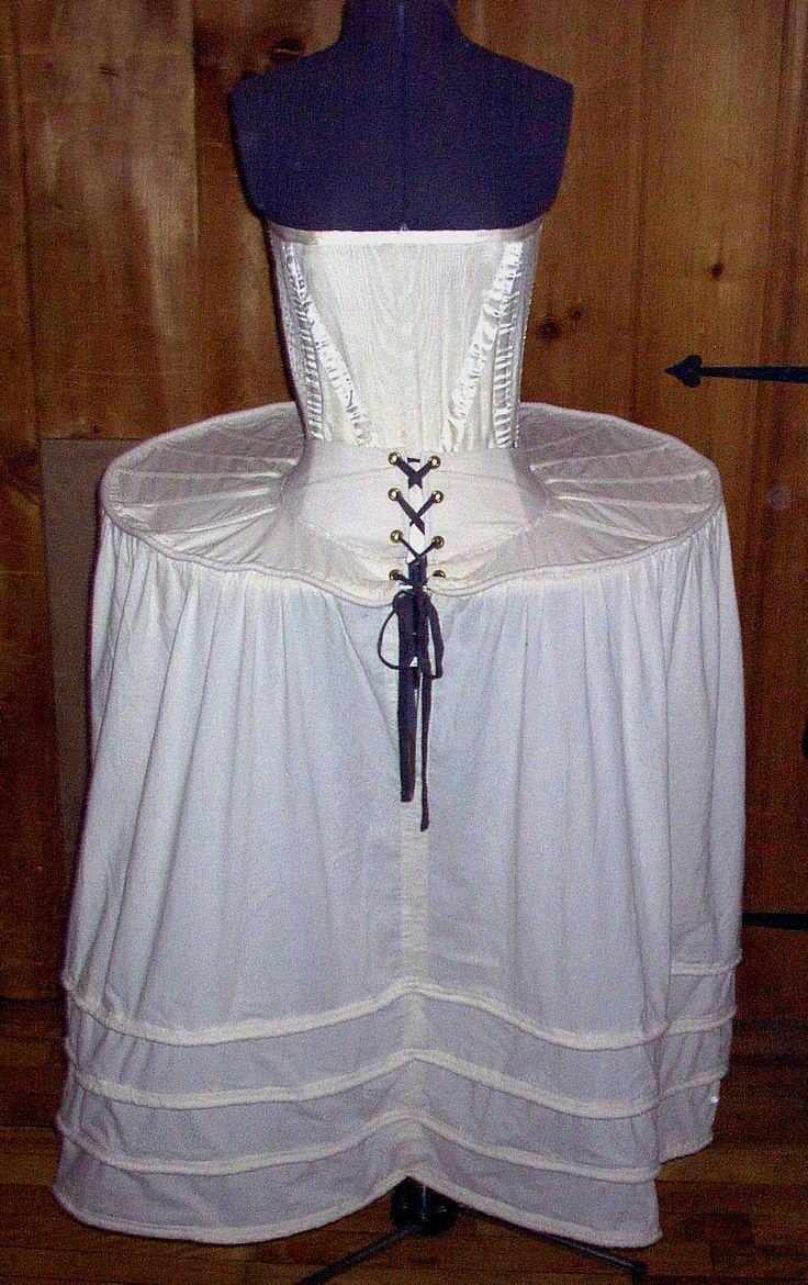 trunkhose | French Farthingale - A support underskirt like the Spanish version but ...