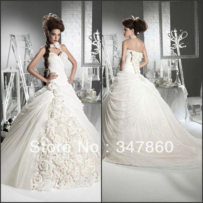 Купить товарБальное платье без бретелек шифон свадебное платье в категории Свадебные платьяна AliExpress.     Технические характеристики