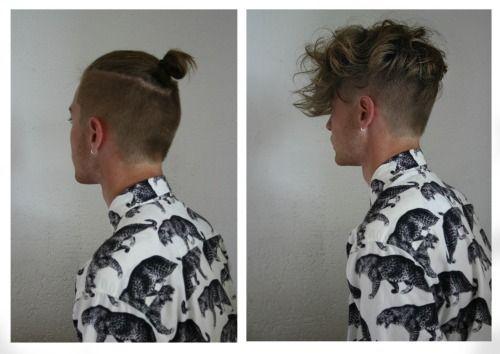 Pinterest:duquesasheenz  Guys with top knot! Makes me soooo weak! ❤ ℒ