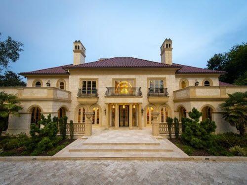 Palatial masterpiece in atlanta georgia estates for Dream homes georgia