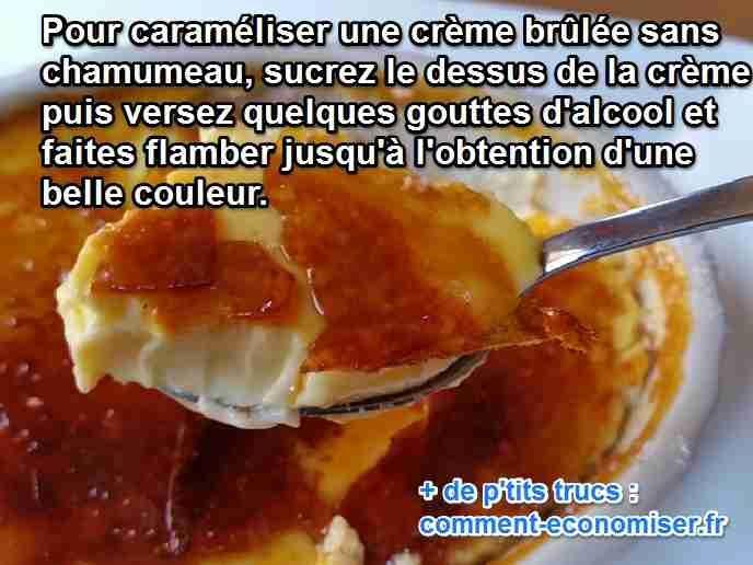 Vous cherchez une astuce pour caraméliser vos pots de crème sans chalumeau ?   Découvrez l'astuce ici : http://www.comment-economiser.fr/carameliser-creme-brulee-sans-chalumeau.html?utm_content=buffer6746c&utm_medium=social&utm_source=pinterest.com&utm_campaign=buffer