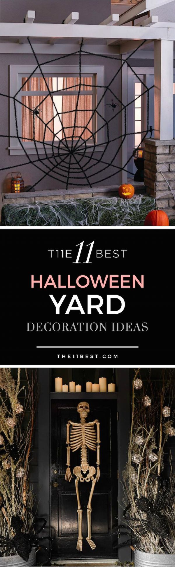 Spooky halloween yard decorations - Find This Pin And More On Halloween The 11 Best Spooky Halloween Yard Decor Ideas