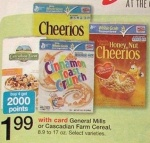 General Mills Cereal Coupons - As Low as 74¢/Box this week at Walgreens!
