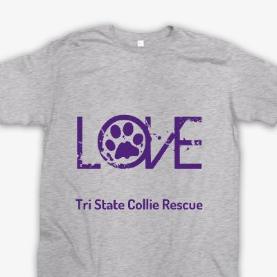 Check out this awesome Tri State Collie Rescue shirt!