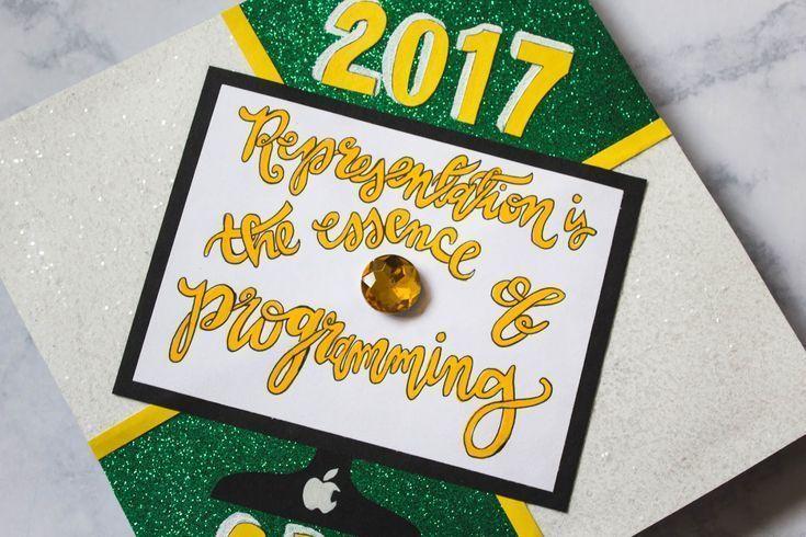 MidwestMermaidArt DIY: How To Attach Your Graduation Cap Decoration - #attach #decoration #graduation #midwestmermaidart - -