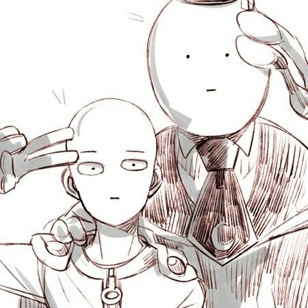 anime, saitama, and one punch man image