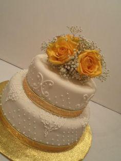 tortas bodas de oro - Buscar con Google