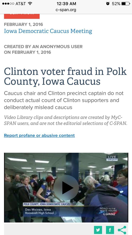 http://www.c-span.org/video/?c4578575/clinton-voter-fraud-polk-county-iowa-caucus