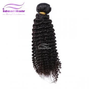 Malásia encaracolado kinky virgem,5A tecer cabelo,Total da cutícula,Emaranhado-Ideal Virgin Hair
