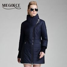 MIEGOFCE 2016 Yeni Koleksiyon kadın Giyim Bahar Pamuk Sıcak Giysiler Pamuk Yastıklı Ceket(China (Mainland))