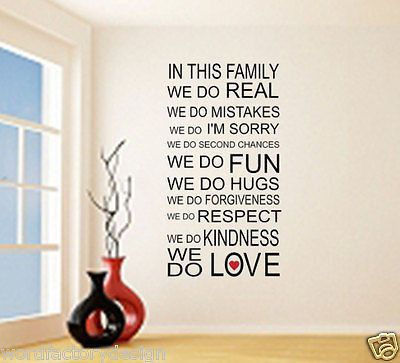 In This Family We Do... Family Rules