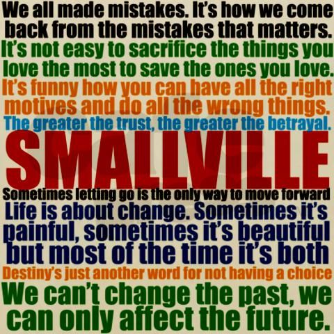 Smallville Quotes Blanket Wrap