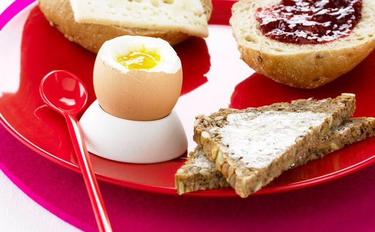 Egg og rugbrød