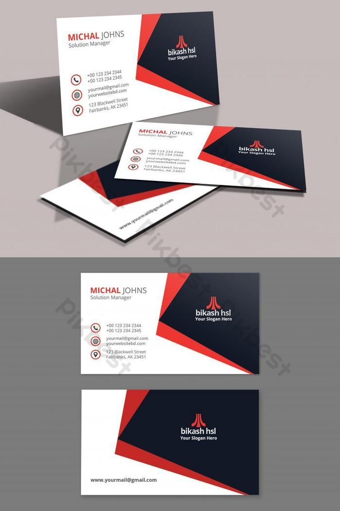 Business Card Template Psd Free Download Pikbest Business Card Template Business Card Template Psd Business Cards Creative