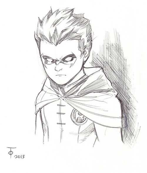 Robin by Marcus To. Looks like Damian to me! ;)