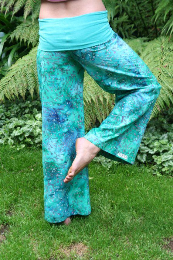 Wideleg trousers by funkyBINTA on Etsy, $32.00