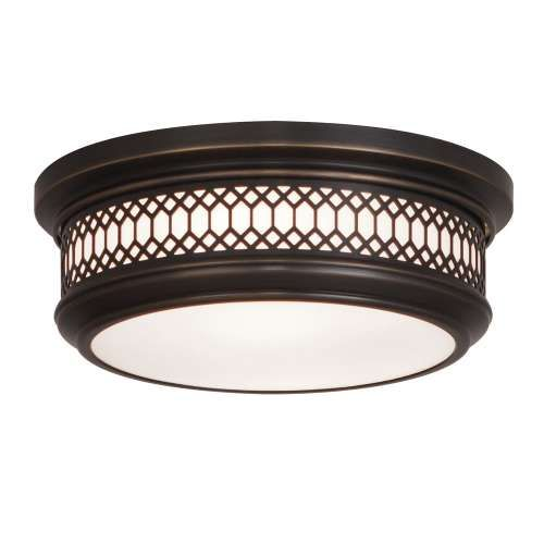 WILLIAMSBURG Small Tucker Flush Mount Ceiling Light