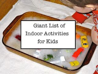What Do We Do All Day?: Indoor Activities for Kids: Indoor Activities, Activities For Kids, Kids Stuff, Rainy Day, Kids Activities, Indoor Plays, Giant Lists, Huge Lists, Things To Do