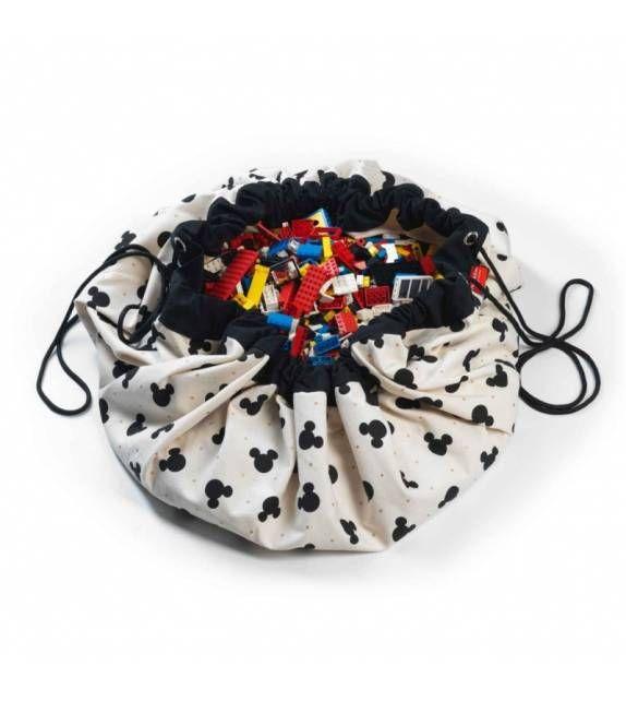 Saco y manta de juegos Disney Mickey Black PLAY AND GO