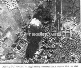 attack by u.s foggia 22 luglio 43 bombing_wwii  foggia railway