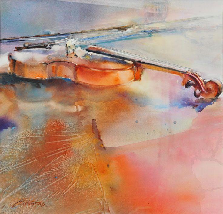 Caussade, Salon International de l'Aquarelle du 16 au 31 mai 2015: Les artistes 2015