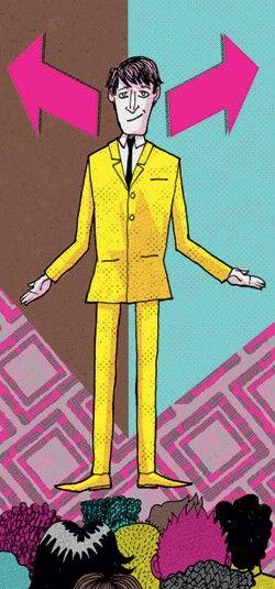 O melhor líder... é o que não quer liderar (Foto: Ilustração: Daniel Almeida) http://glo.bo/1tna69t