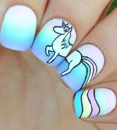 Rlly creative image nails