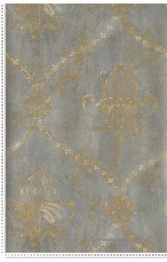 17 meilleures id es propos de papier peint baroque sur pinterest papier p - Idee deco tapisserie ...