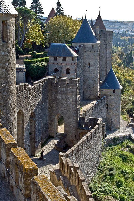 La Cité de Carcassonne, France: