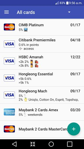 Manage Credit Card Instantly v1.3.5   Manage Credit Card Instantly v1.3.5Requirements:4.1Overview:The goal is simple I need an app that tells me the next due date cut off dates of all my cards as well as to let me keep track of transactions for each card and doesn't look like it's going to steal my credit card info.  The goal is simple I need an app that tells me the next due date cut off dates of all my cards as well as to let me keep track of transactions for each card and doesn't look…