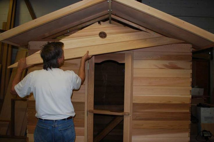 15 best pre built saunas images on pinterest saunas for Pre built garden rooms