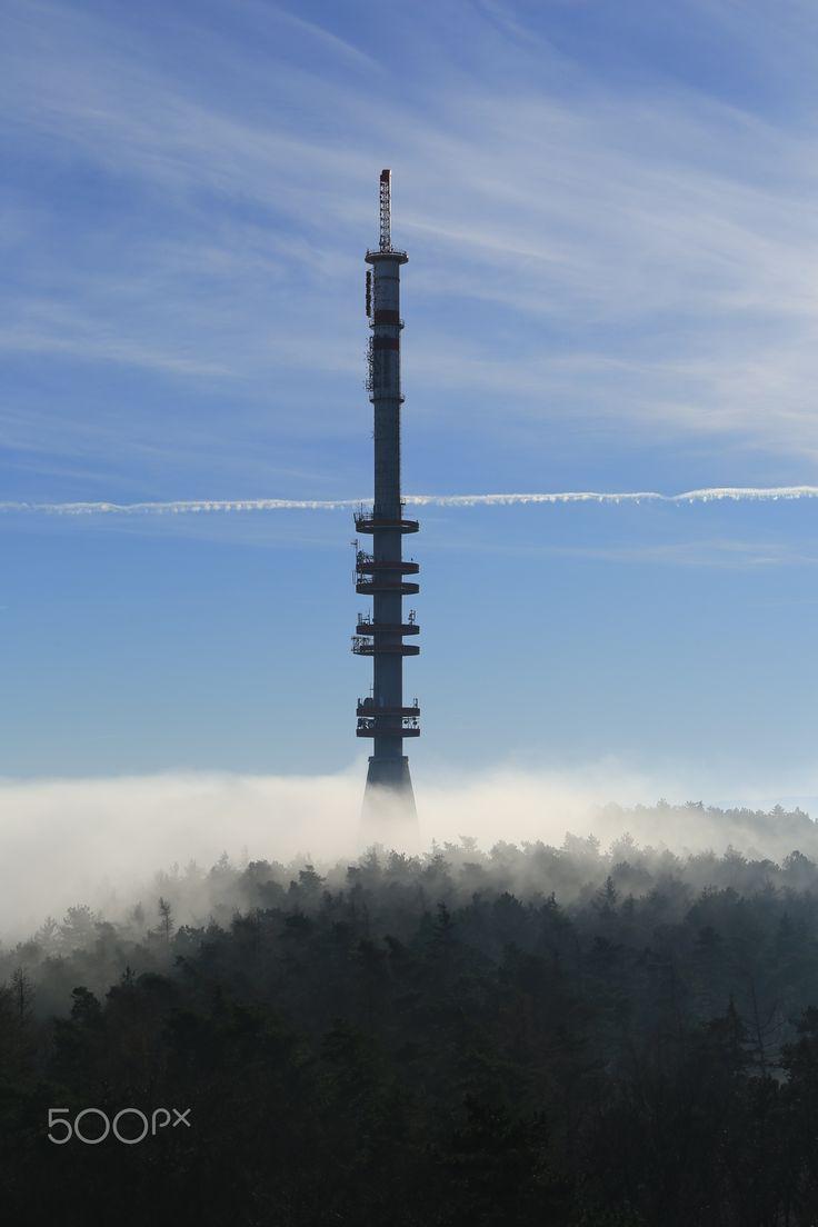 Foggy TV tower by Katalin Bölcskei - Photo 134799715 - 500px