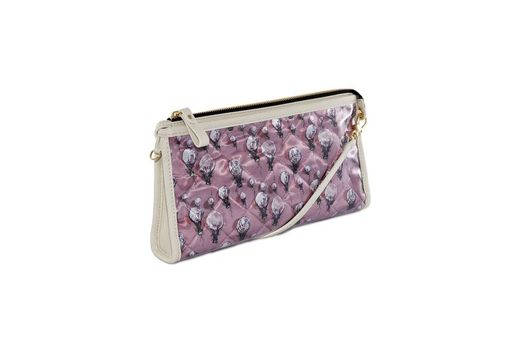 Crystal Clutch Bi-color Old-rose White http://federicalunello.com #federicalunello #bags #accessories #handmade #madeinitaly