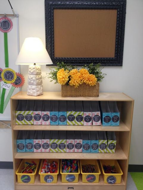 Classroom Organization in Pictures