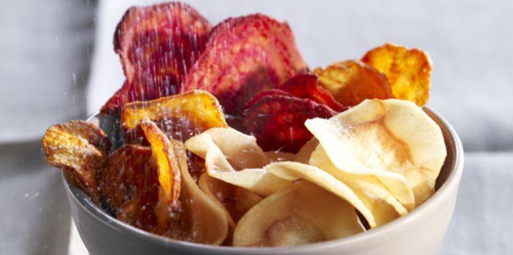 Chips aux trois légumes