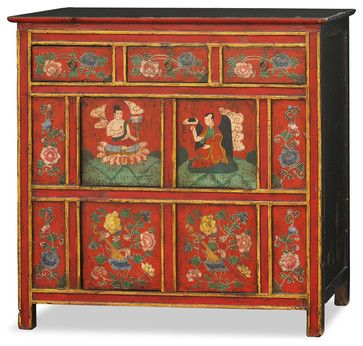 Super 394 best Tibetan Furniture and Art images on Pinterest | Asian  HS05