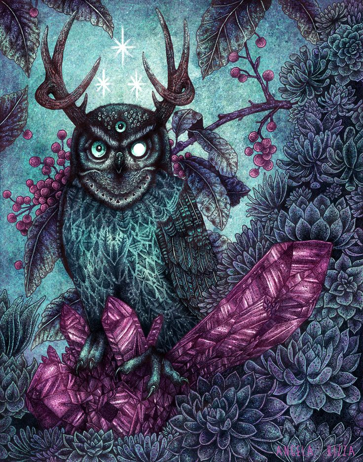 Night Owl by AngelaRizza.deviantart.com on @deviantART