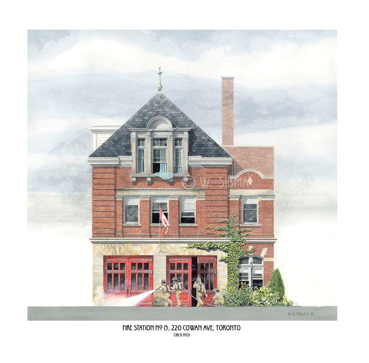 Fire Station No. 15, 220 Cowan Avenue Toronto.