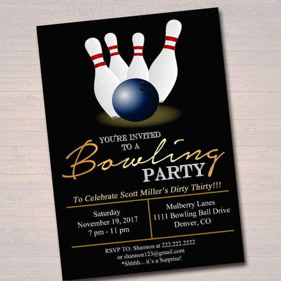 Best Company Christmas Party Ideas: 25+ Best Ideas About Bowling Party Invitations On