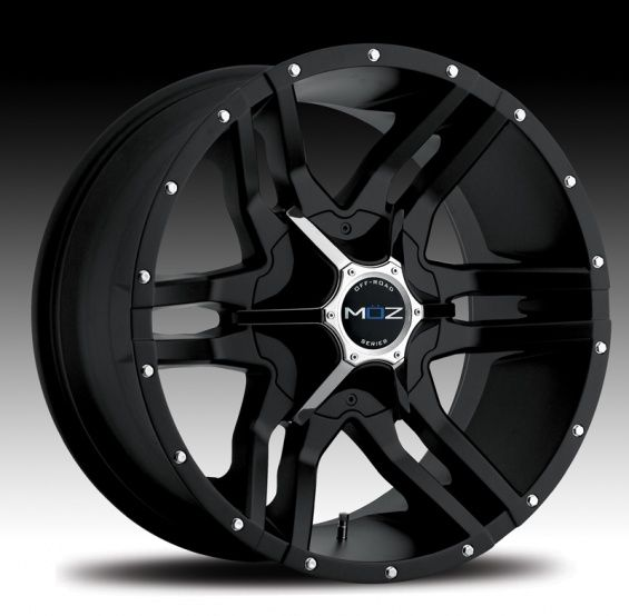 MOZ Luxury Wheels: Off-Road Wheels for Lifted Toyota Tundra