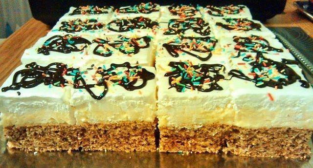 Fagyi szelet, télen - nyáron remek választás ez a bámulatos süti!