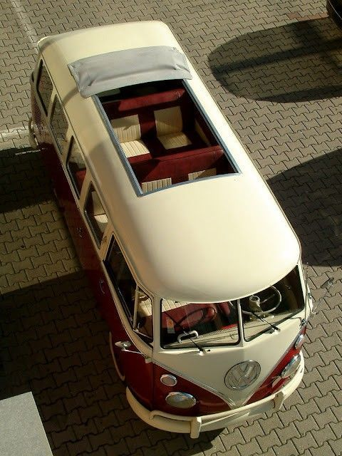 VW bus... Perfect summer beach ride
