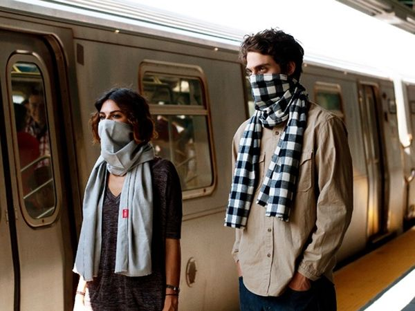 Scough Scarf Can Protect You From The Flu