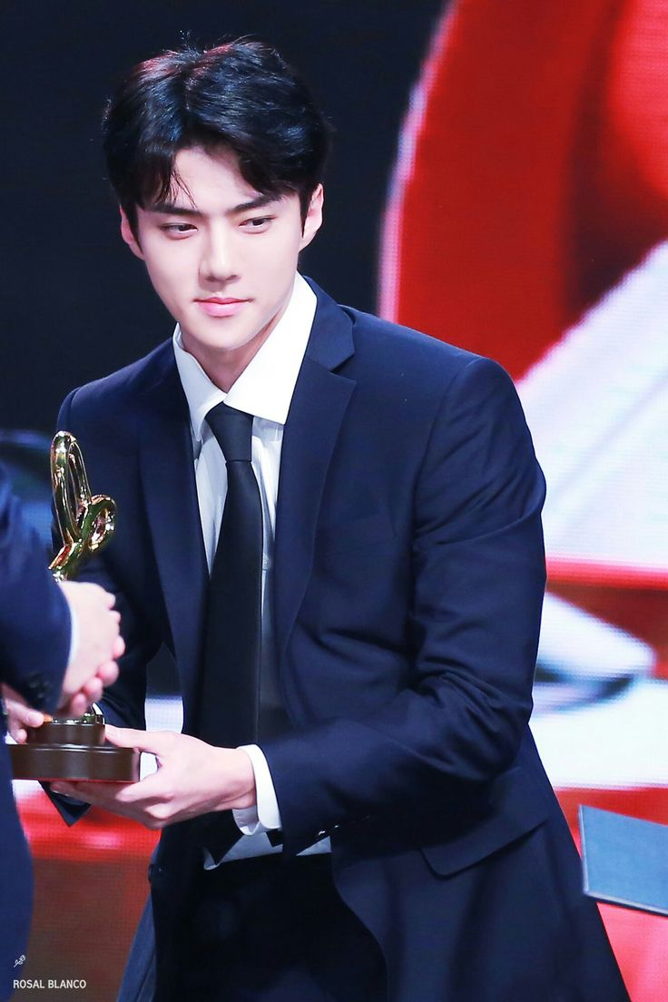SEHUN at the 2017 Korean Popular Culture and Arts Award