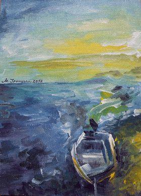 """Sailing Away"" (1) by Mihaela Ionescu"