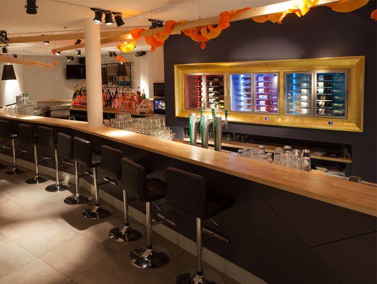 Pinterest weink hlschrank 17 vinothek for Amenagement cuisine professionnelle