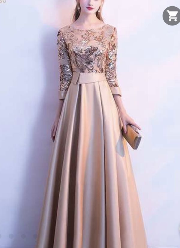 Gold Dress For Sale For Sale In Fort Lauderdale Fl Offerup Soiree Dress Dresses Ball Gowns Evening