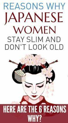 Why Japanese Women Stay Slim & Live Longer